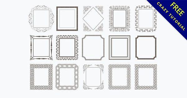 【簡單邊框】素材推薦:21套細緻的簡單邊框下載