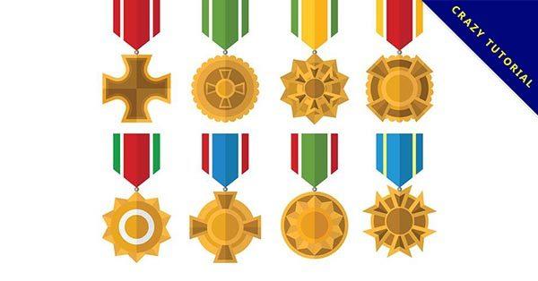 【獎牌素材】21張高質量的獎牌素材下載,精緻圖形推薦