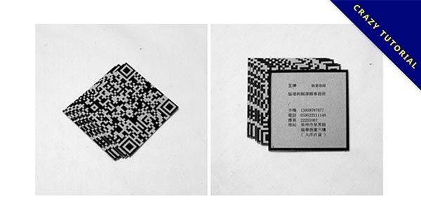 【QR CODE 名片】22個精緻的QR CODE 名片設計範例作品推薦