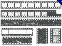 【膠卷素材】23個電影膠卷素材下載,優質ai向量圖推薦