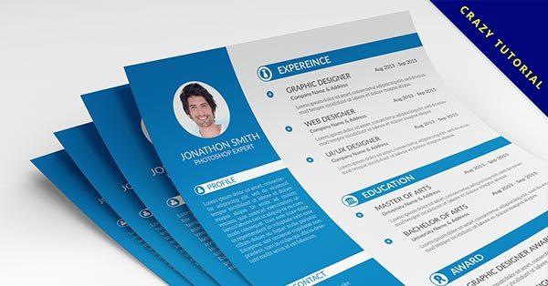 【履歷表設計】23款高質感履歷表設計作品推薦