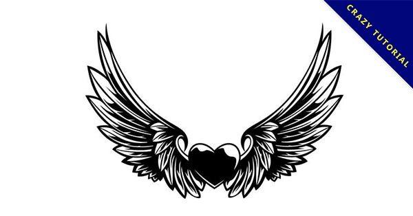 【翅膀刺青】25個優質的天使翅膀刺青圖下載,有設計感圖騰推薦
