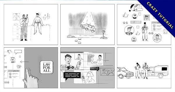 【角色設計】27個有設計感的角色設計作品理念推薦
