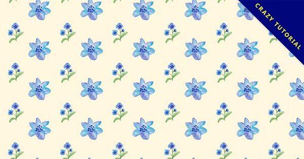 【花紋素材】29款精細的花紋素材下載,優質背景推薦