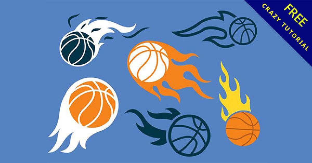 【籃球素材】乾貨推薦:18個q版籃球圖案素材下載