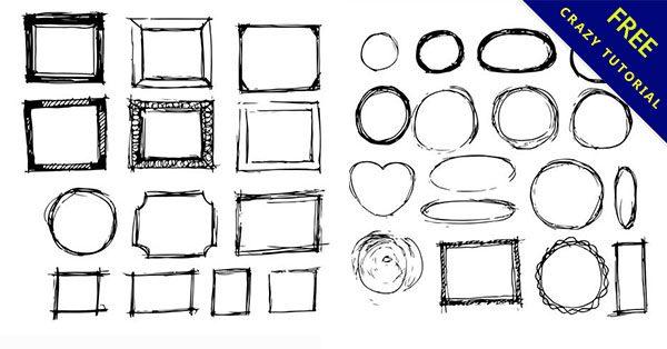 【手繪邊框】佛心推薦:16個精品的邊框手繪下載