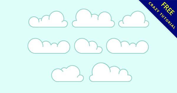 【雲圖案】免費乾貨又一波!16張可愛的雲圖案下載