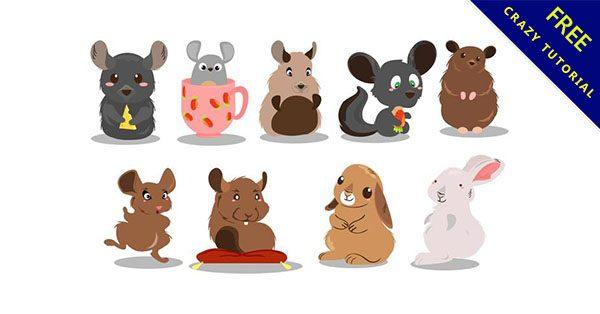 【卡通老鼠】免費乾貨又一波!27個可愛的老鼠卡通圖下載