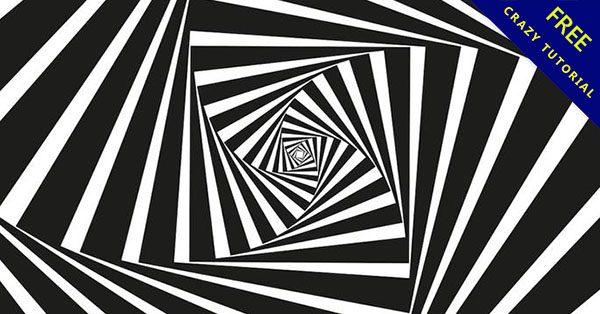 【黑白線條圖】免費乾貨! 16個單色的線條黑白圖下載