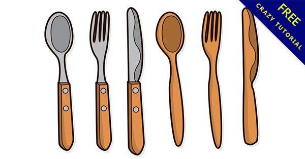 【刀叉圖片】免費推薦:14套餐具的刀叉素材下載