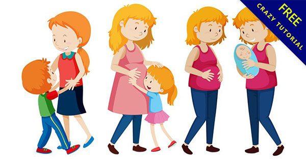 【卡通媽媽】免費推薦:15款高質感的媽媽卡通下載