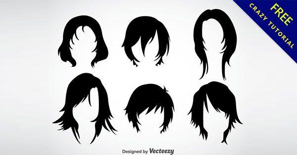 【卡通頭髮】小編推薦的16套高質感的頭髮素材下載
