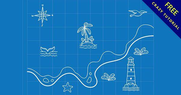 【可愛地圖】必須收藏的14張優秀的q版地圖範例下載