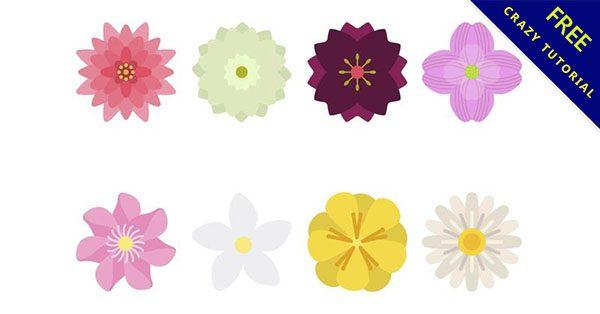 【可愛花朵圖案】30款精緻的花朵圖案下載