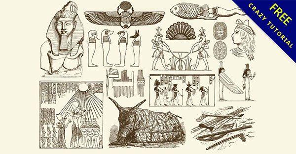【埃及圖騰】考古必備的16個神秘的埃及符號下載