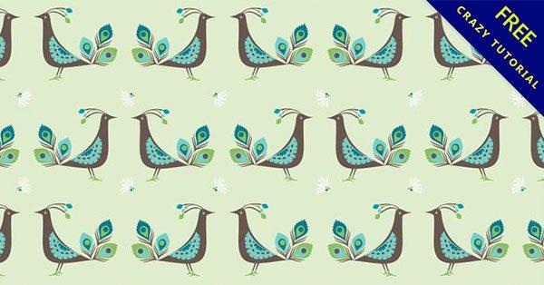 【孔雀素材】嚴選21套可愛的孔雀圖片下載