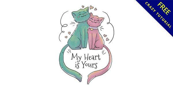 【小貓圖案】美編都需要的15張可愛小貓圖片下載