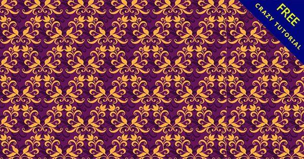 【歐式花紋】嚴選推薦:18款復古的歐式圖騰下載
