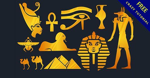 【法老王卡通】16套埃及的卡通法老王下載