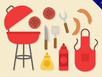 【烤肉素材】嚴選推薦:20款中秋節的烤肉圖片下載