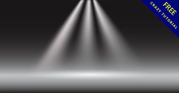【燈光素材】設計人都需要的24個高質感的燈光背景下載