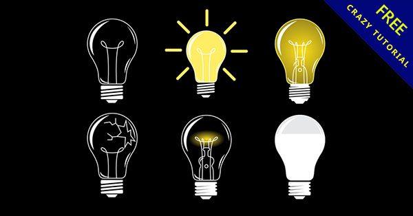 【燈泡卡通】強烈推薦:24套高品質的卡通燈泡下載