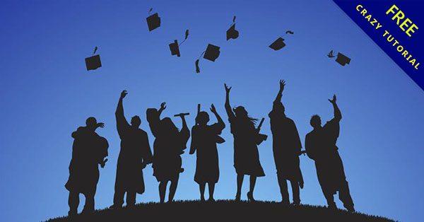 【畢業生圖案】畢冊必備的22款卡通的q版畢業生下載