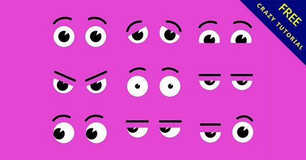 【眼睛卡通】小編推薦:20個可愛的卡通眼睛下載