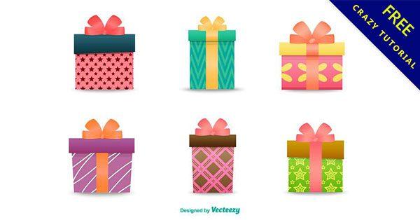 【禮物盒素材】編輯推薦:10套可愛的禮物盒圖案下載