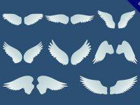【翅膀素材】嚴選21款可愛的翅膀素材下載