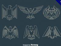 【老鷹圖騰】刺青推薦:15套精細的老鷹圖騰下載