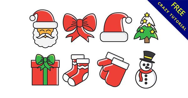 【聖誕元素】聖誕推薦:21個可愛的聖誕節元素下載