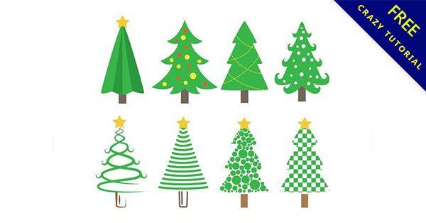 【聖誕樹卡通】聖誕推薦:23款可愛的聖誕樹素材下載