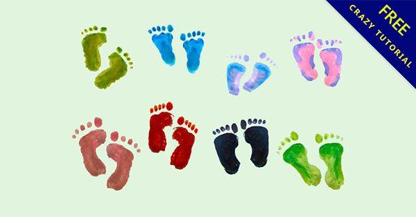 【腳丫子圖案】17個可愛的腳丫子圖片下載