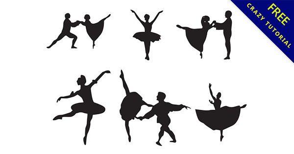 【芭蕾舞圖案】舞者必備的26套可愛的芭蕾舞素材下載