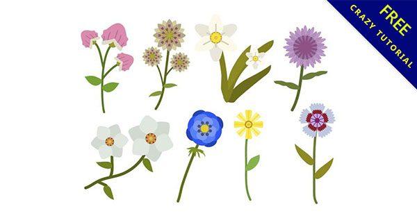 【花朵卡通】免費推薦:18款可愛的卡通花朵下載