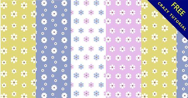 【花紋素材】編輯推薦:20款精緻的素材花紋下載