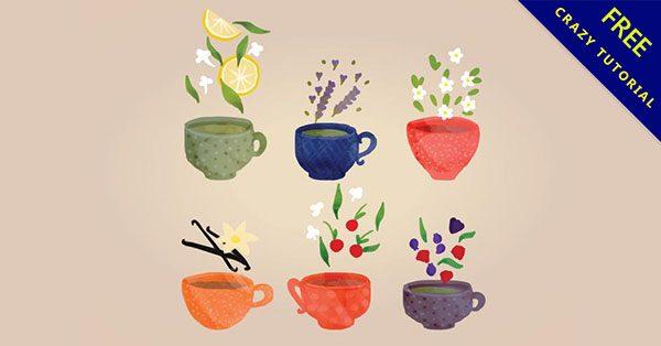 【茶葉素材】小編推薦的18張泡茶的茶葉圖案下載