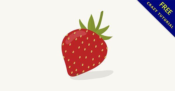 【草莓素材】精選25張可愛的草莓素材下載