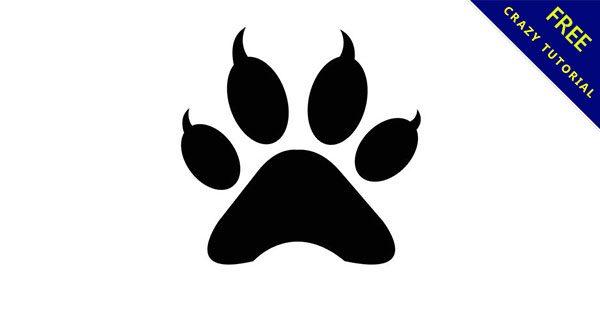 【貓掌圖案】素材推薦:18張可愛的貓掌素材下載