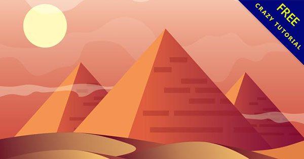 【金字塔圖】素材推薦:17款埃及的金字塔圖片下載