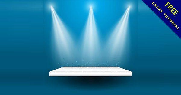 【頒獎背景】23個投射燈的頒獎背景下載