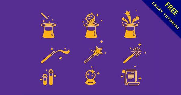【魔法元素】精選20套細緻的魔法素材下載