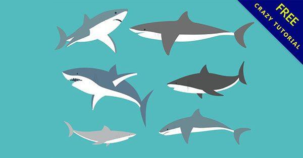 【鯊魚卡通】小編推薦的14個可愛的卡通鯊魚下載