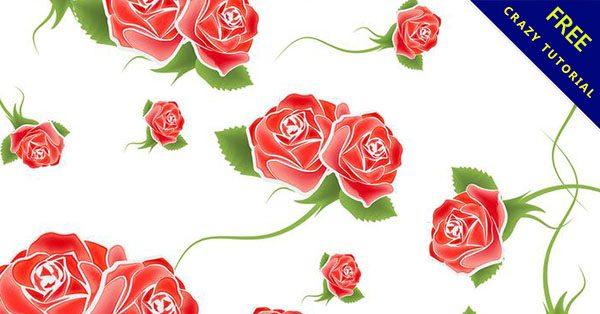 【玫瑰背景】創作時必使用的13款高質感的玫瑰背景下載