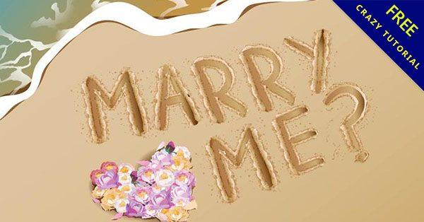 【求婚圖案】嚴選推薦:18張卡通求婚素材圖案下載