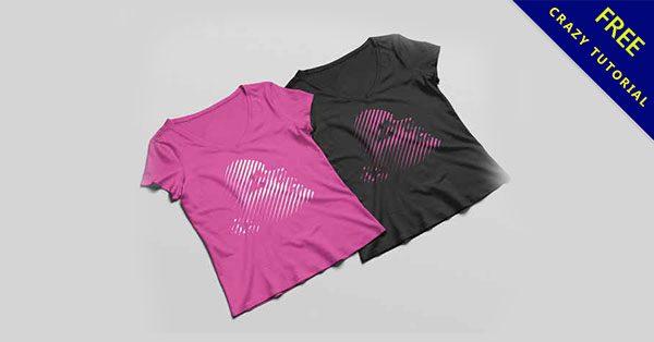 【T-Shirt模板】女生專用的T-Shirt模板下載