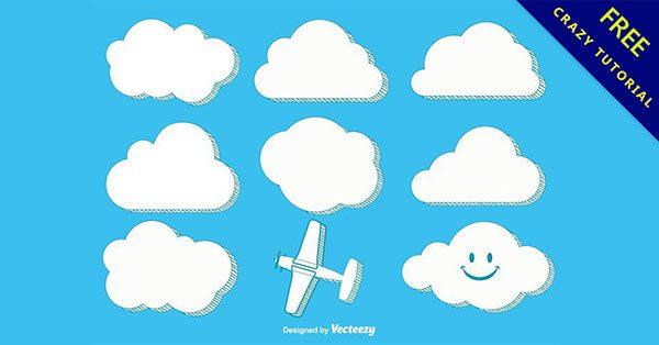 【卡通雲】實用推薦:16張可愛的雲卡通下載