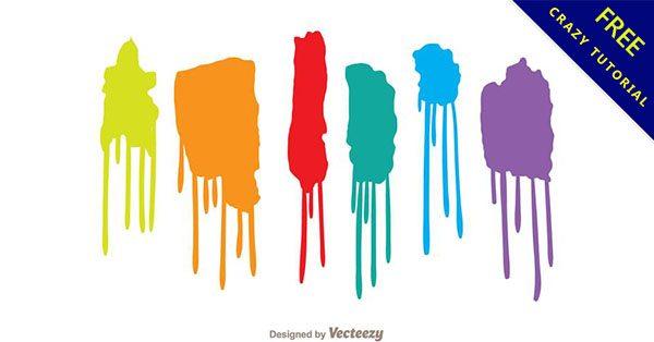 【潑漆素材】小編推薦:20個優秀的潑油漆素材下載