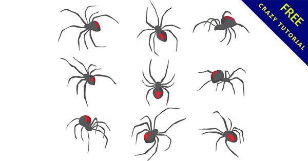 【卡通蜘蛛圖案】小編推薦:20張高品質的卡通蜘蛛圖案下載